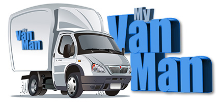 man with a van logo